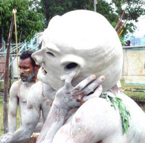 mudmen in PNG