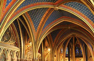 Sainte Chapelle ceiling