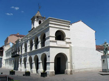 Cabildo in Salta demonstrates colonial architecture