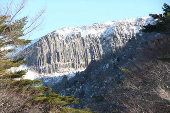 Mount Halla summit, South Korea