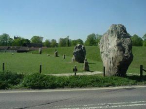 large stones at Avebury