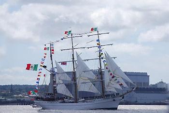 Italian tall ship
