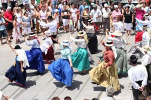 dancing in Tenerife parade