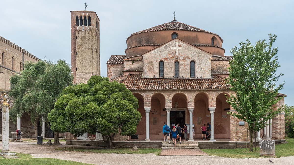 Santa Fosca church in Torcello, Italy