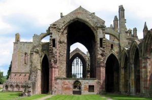Melrose Abbey exterior