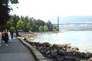 Stanley Park sea wall, Vancouver