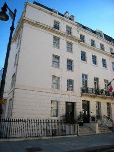 Sir Henry Wilson's former home in Belgravia, London