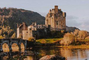 Rhine castle is historical travel destination