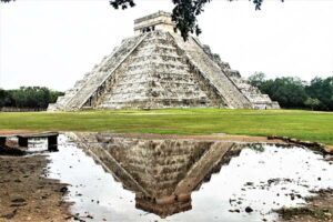 Chichen Itza and its reflection
