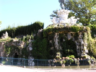 Beziers fountain
