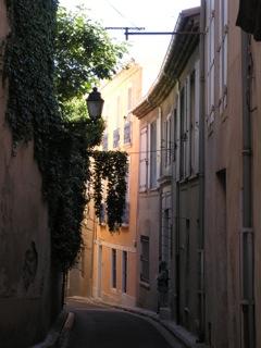 walkway in Beziers
