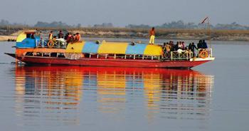 Assamese water taxi