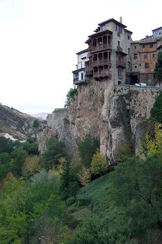 Cuenca cliffside houses