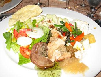 plate of Fijiian food