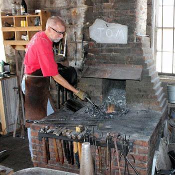 Galena blacksmith