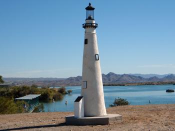 replica lighthouse