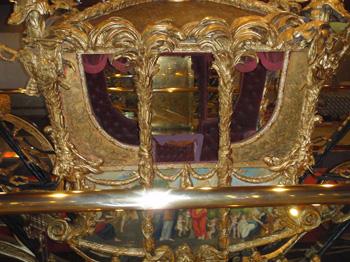 British coronation coach replica