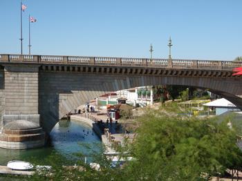 London Bridge detail view