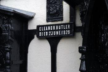 Eleanor Butler plaque