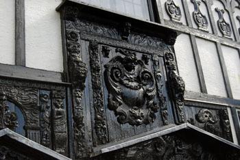 house archetectural detail