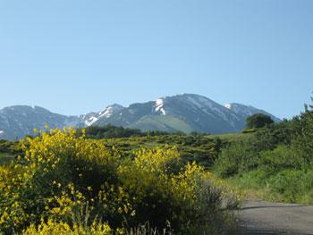 Maiella mountains