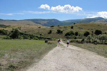 trekking to the hermitage