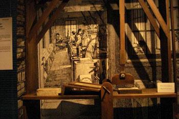 display in Gutenberg museum