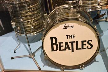 Beatles drum kit
