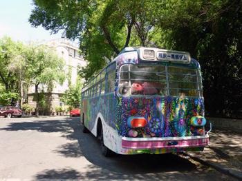 colorful Mexico City bus