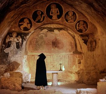 Chamber in Narni underground museum