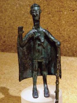 statue in museum, Sardinia