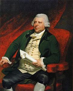 Richard Arkwright portrait