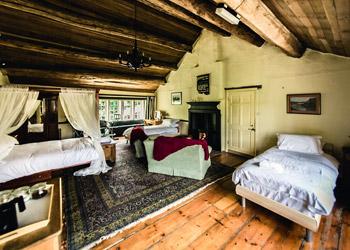 Ponden Hall guest room