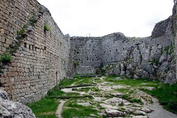 Montsegur walls