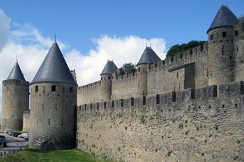 Carcassonne walls