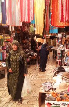 women in souk
