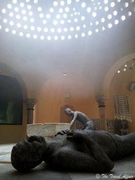 Turkish bath house