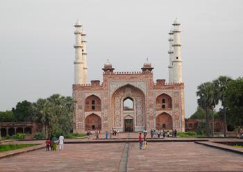 mausoleum entrance