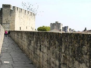 walkway on city wall