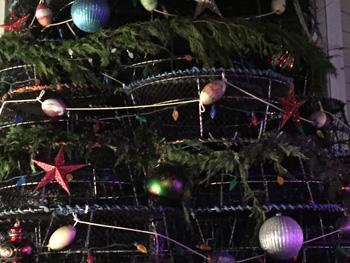 decorations on tree