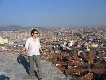 the author in Ankara