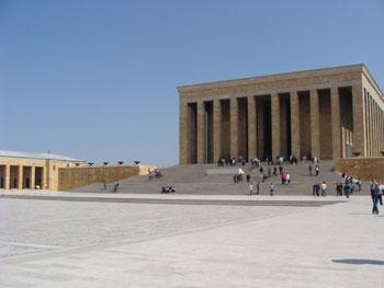 Anit Kabir, Ataturk's mausoleum