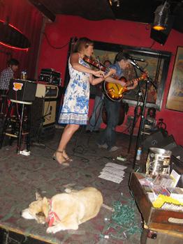 musicians at Continental Club