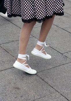 feet of a dancer
