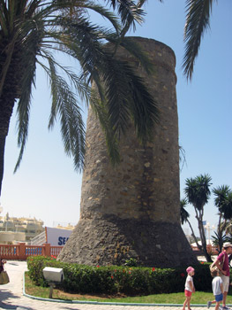 Moorish lookout tower