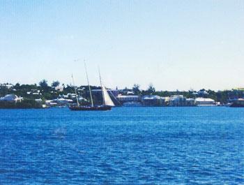 sailboats in Bermuda