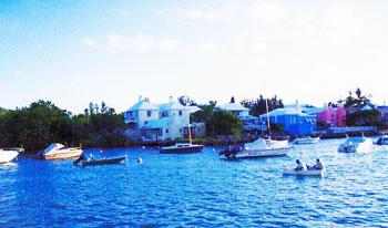 boats in Bermuda