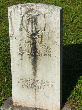 Murdo Smith grave marker