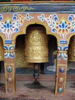 Buddhist prayer bell