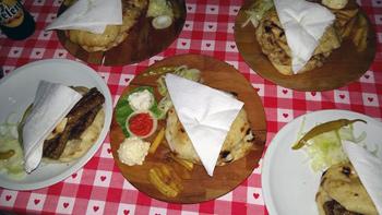 Bosnian food assortment